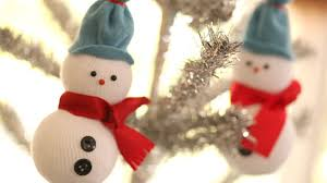 diy snowmen ornaments youtube