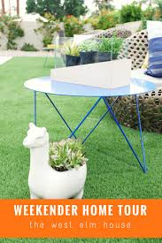 West Elm Outdoor by Weekender Home Tour The West Elm House Weekend Inspired Gifts U0026 Decor