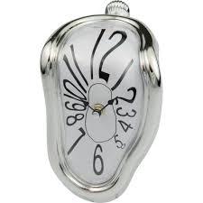 Unique Desk Clocks by Clock Unique Melting Clock Design Salvador Dali Melting Clocks