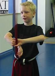 Sempai Scot Bowman. Scot attained the rank of Junior Black Belt in Shorin Ryu in December, ... - scotty2