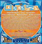 Lollapalooza | A List Calendar