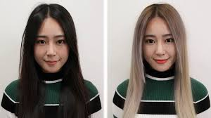 Hair Color To Look Younger Asians Go Blonde Youtube