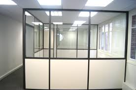 claustra bureau amovible cloison vitree beautiful vitre coulissante effet fum montpellier