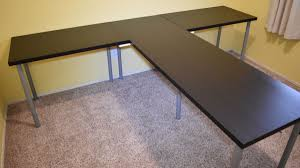 Ikea Dining Table Hacks Tshaped Partner Desk From Ikea Parts Ikea Hackers Ikea Hackers