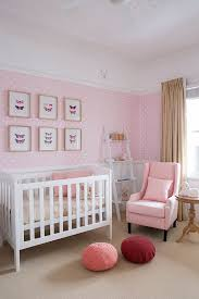 Vintage White Baby Crib by Designs Ideas Vintage Lovely Pink Nursery With White Baby Crib