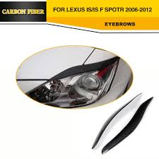 lexus is 250 for sale in cambodia carbon fiber front headlight covers eyebrow eyelids for lexus