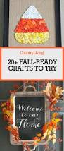 halloween crafts with candy 25 best fall crafts easy diy home decor ideas for fall