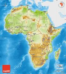 Sub Saharan Africa Physical Map by 100 Orange River Africa Map Smartraveller Gov Au Nigeria