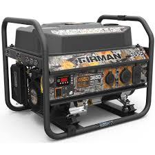 generac 15 000 watt gasoline powered portable generator with ohvi