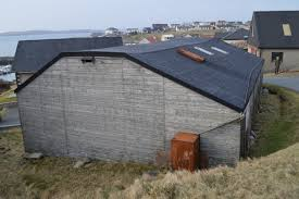 Smith Built Shed by Walter Duncan U0027s Boat Building Shed In Hamnavoe On The Island Of
