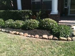 Rock Garden Plants Uk by Rocks Bordering Mulch Landscaping Pinterest Garden Ideas And
