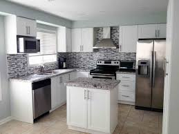 Kitchen Floor Tile Ideas With White Cabinets Kitchen Awesome Contemporary Interior Kitchen Design Regarding