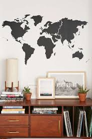 best ideas about room stickers pinterest design walls need love world map wall decal