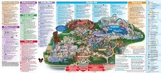 Grand Park Los Angeles Map by Disneyland Park Map In California Map Of Disneyland