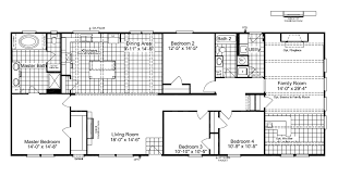 the super saver carrington 4 sa30764c manufactured home floor plan