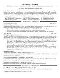Administrative Assistant Resume Objective Examples by Health Insurance Specialist Resume Sample Recentresumes Com