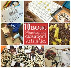thanksgiving vocabulary pictures 10 engaging thanksgiving classroom activities differentiated