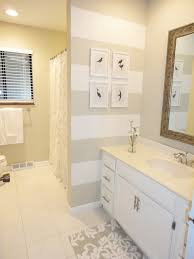 casual window plus nice curtain motive and two type wall paint free guest bathroom have what type paint for