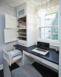 office nice hidden office space by the window with minimalist