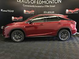 lexus rx pre owned pre owned 2017 lexus rx 350 demo unit f sport series 2 4 door