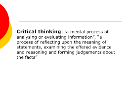 Teaching and Measuring Critical Thinking critical thinking in college jpg