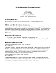 Basic Resume Examples Skills Resume Examples How To Write A Narrative Resume Template Examples