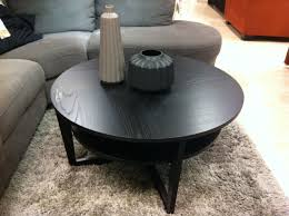 ikea round wood coffee table ck collection pinterest round