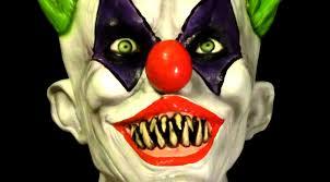 creepy giggles killer clown latex halloween mask youtube