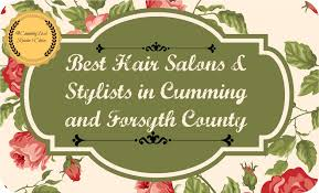 best hair salon stylist in and forsyth county