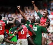 Kenya's Successful Rugby Team.