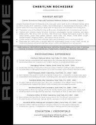 Cosmetology Resume Sample by Resume Sample For Makeup Artist John Bull Job Pinterest