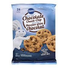 pillsbury ready to bake chocolate chunk and chip cookies