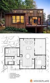 Floor Plans For One Level Homes by Best 25 Small House Plans Ideas On Pinterest Small House Floor