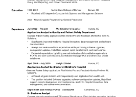 Example Of A Professional Summary  sample professional summary for