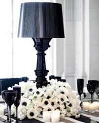 Black Centerpiece Vases by Black And White Reception Wedding Flowers Wedding Decor Wedding