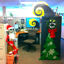 my nightmare before christmas decorate cubical contest jack