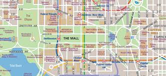Printable Map Of Disney World National Mall Map In Washington D C Wheretraveler