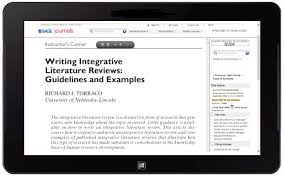 How to write an Integrative Literature Review