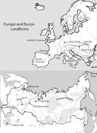 Blank Physical Map Of Russia by Unit 3 Mr Reid Geography For Life