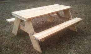 Building Plans For Picnic Table Bench by How To Build A 6 Foot Picnic Table Jays Custom Creations