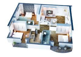 3 Bedroom Apartment Floor Plan 3 Bedroom Apartment U0026 House Plans Design Architecture And Art