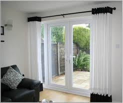 window treatments for french doors in living room home intuitive