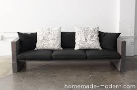 Modern Outdoor Sofa by Homemade Modern Diy Ep70 Outdoor Sofa Options Diy Decor