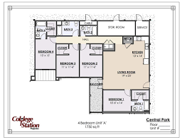 Central Park Floor Plan by Central Park Apartment In Tuscaloosa Al