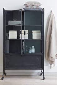 cabinet steel storage soft plaids metal glass bepurehome