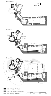 Castle Floor Plan by File Dirleton Plan All Floors Png Wikimedia Commons