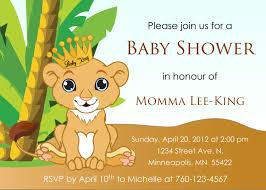lion king baby shower invitations u2013 frenchkitten net