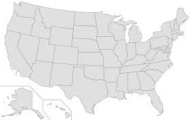 Blank State Map Of Usa by Blank Us Map Game United States Map Game 50 States Challenge By