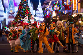 my disney family tradition watching the christmas parade