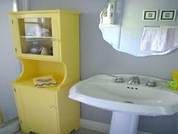 bathrooms magnificent yellow bathroom decor on yellow and gray